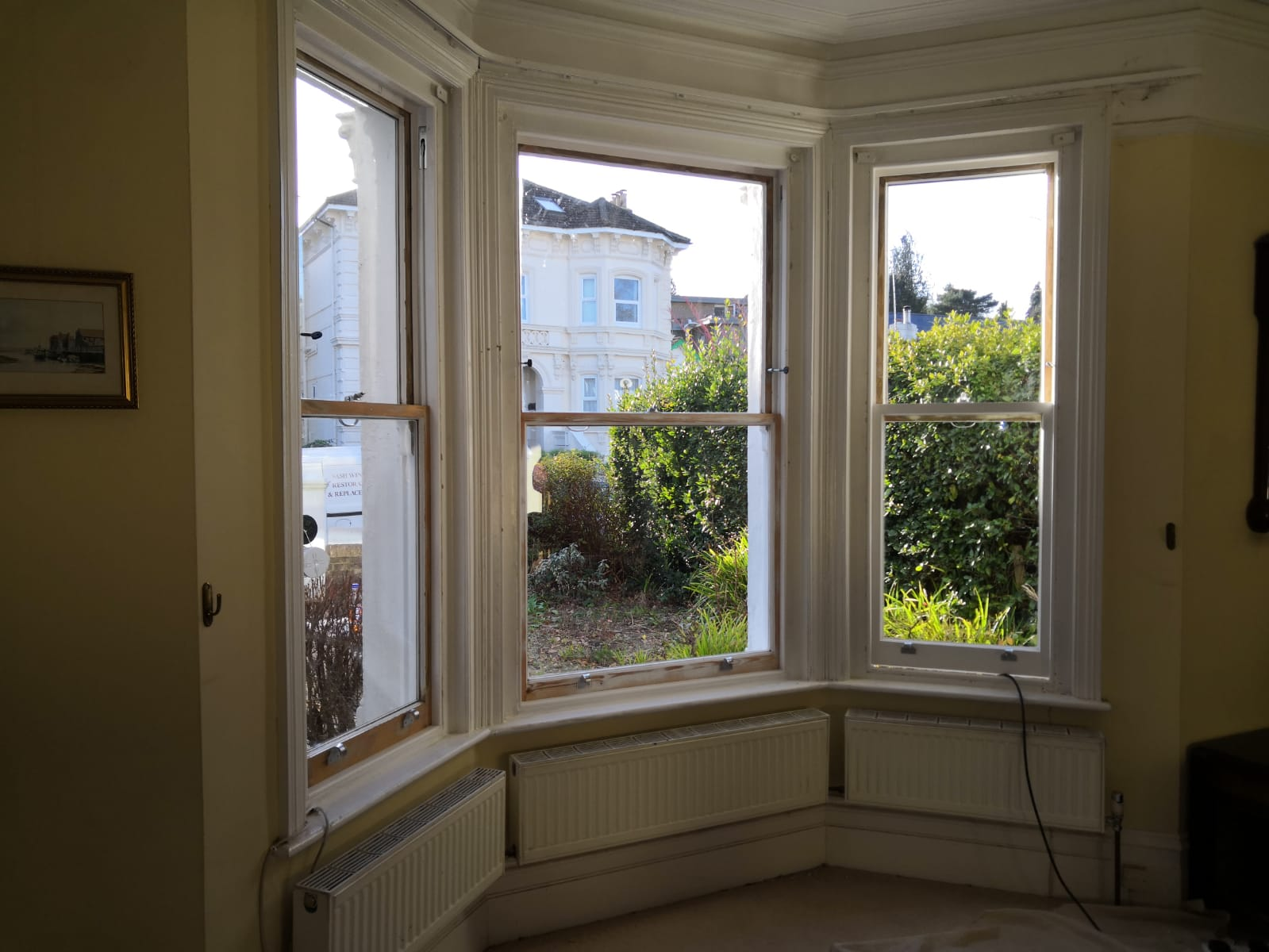 Slim double glazing + draught proofing