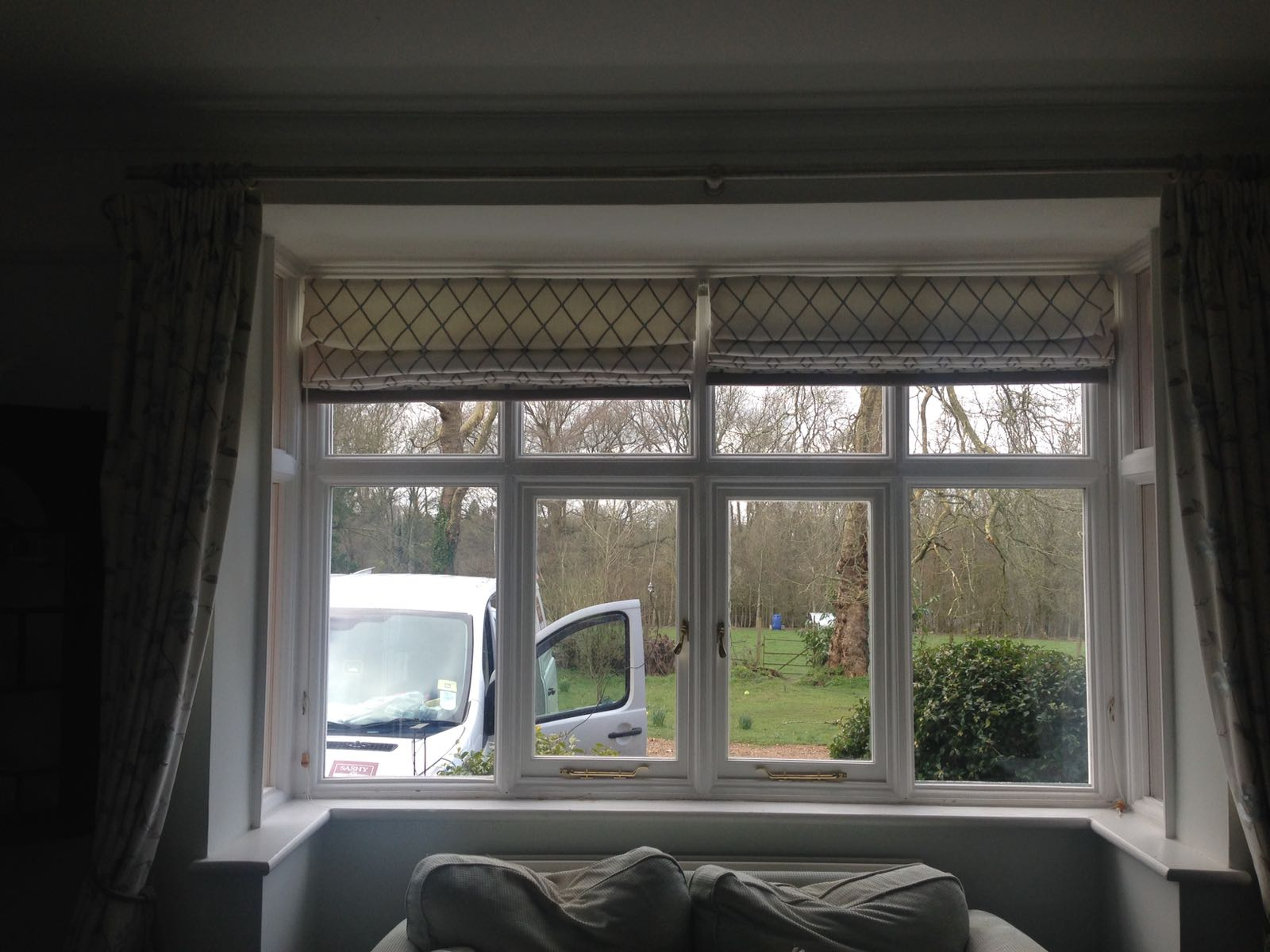 Window refurbishment at Hever