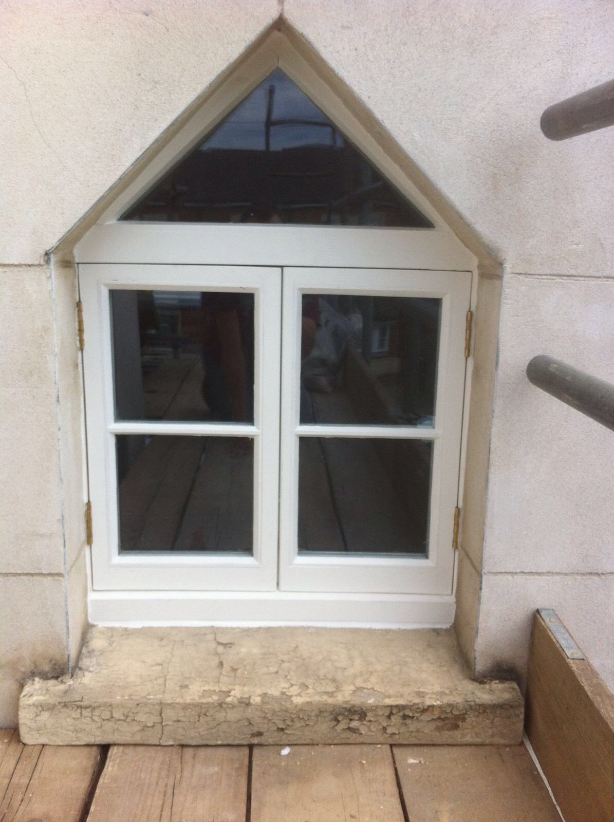 Triangle window replacement