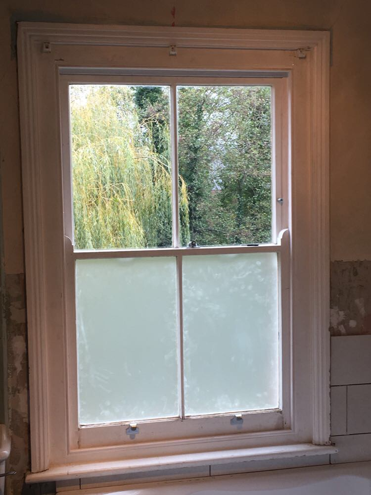 Sash Window Refurbishment - Tonbridge